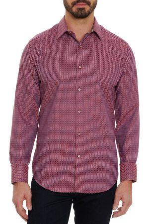 Robert Graham Men's Wesselman Geo Pattern Button-Up Shirt