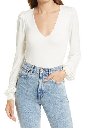 Lulus Women's Kaylene Long Sleeve Bodysuit