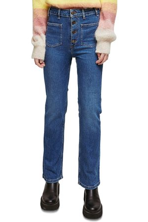 Maje Passion Flared Jeans in