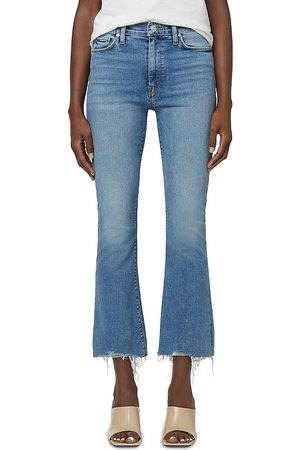 Hudson Barbara Raw-Hem Jeans in Another Day
