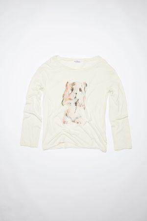 Acne Studios FN-WN-BLOU000646 /pink Long sleeve t-shirt
