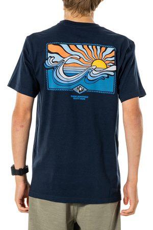 Rip Curl Swc Hazed Boys Short Sleeve T-Shirt - Navy