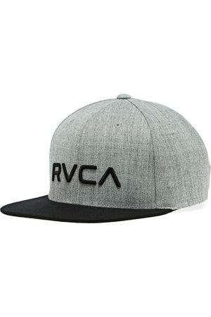 RVCA Twill Snapback II s Cap - Heather Grey