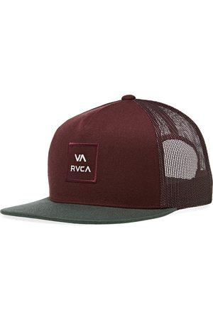 RVCA Men Caps - VA All The Way Trucker s Cap - Oxblood