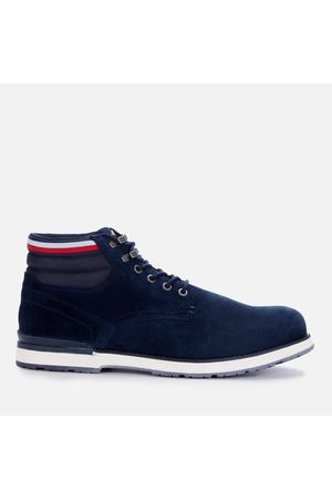 Tommy Hilfiger Men Lace-up Boots - Men's Outdoor Suede Leather Lace Up Boots