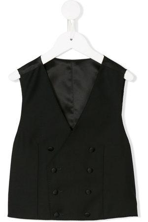 Dolce & Gabbana Boys Waistcoats - Tailored double-breasted waistcoat