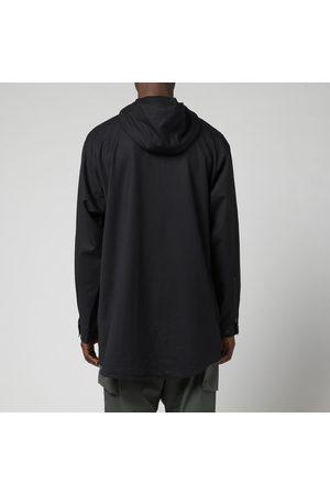 Y-3 Men Sports Jackets - Men's Refined Wool Hooded Windbreaker