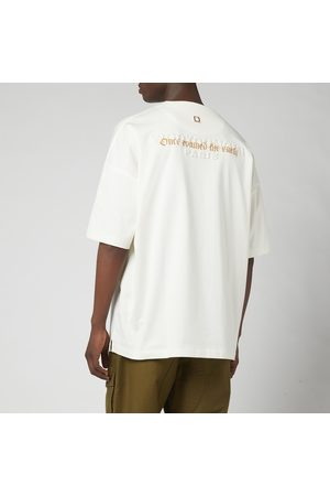 WOOYOUNGMI Men T-shirts - Men's Back Script T-Shirt