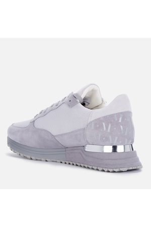 Mallet Men Sneakers - Men's Popham Suede/Mesh Running Style Trainers