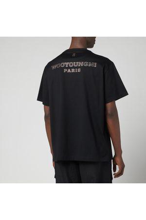 WOOYOUNGMI Men T-shirts - Men's Back Logo T-Shirt