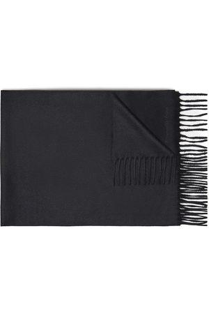 Ermenegildo Zegna Men Scarves - Logo-embroidered cashmere scarf