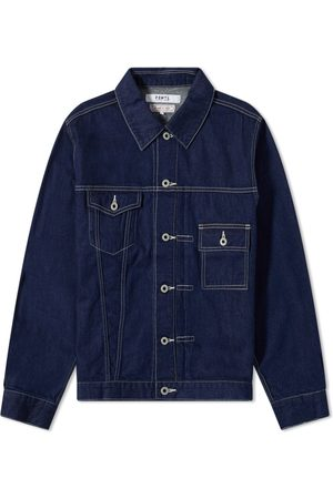 FDMTL Men Denim Jackets - Rinse Denim Jacket