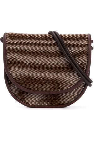 Brunello Cucinelli Girls Bags - Stud-embellished crossbody bag