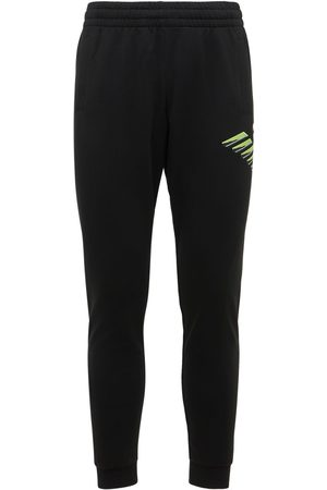 EA7 Men Sweatpants - Eagle Cotton Sweatpants
