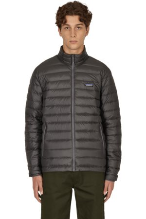 Patagonia Men Jackets - Down sweater jacket FORGE GREY S