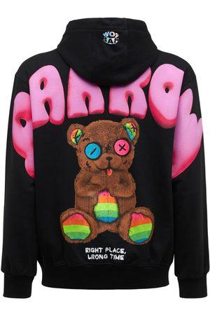 BARROW Men Hoodies - Big Bear Logo Cotton Hoodie