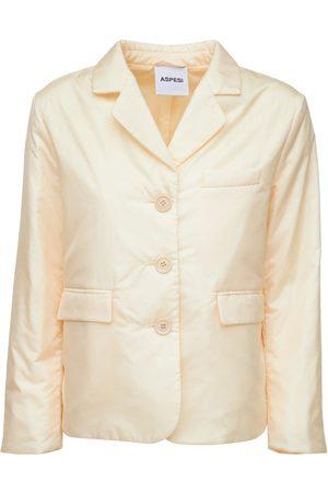 Aspesi Women Puffer Jackets - Lightweight Nylon Padded Jacket