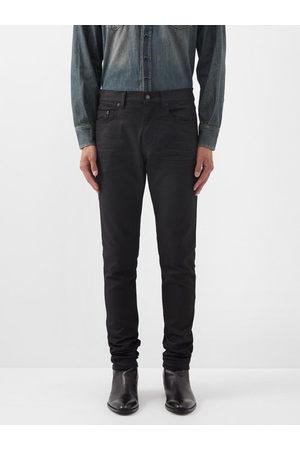 Saint Laurent Men Slim - Low-rise Slim-leg Jeans - Mens