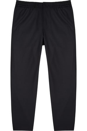NN.07 Men Straight - Black straight-leg trousers