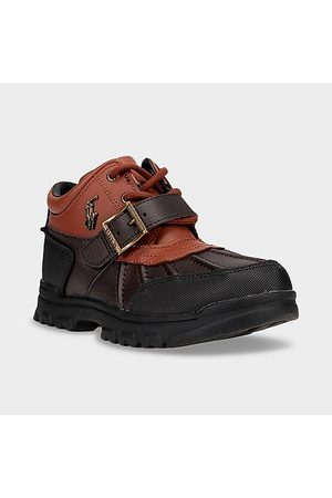 Polo Ralph Lauren Boys Boots - Boys' Big Kids' Dover Boots in / Size 5.0 Leather