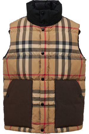 Burberry Check Tech Down Vest