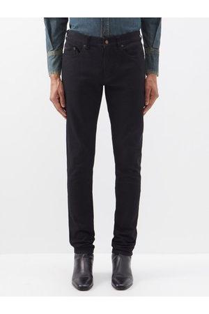 Saint Laurent Men Skinny - Mid-rise Skinny-leg Jeans - Mens