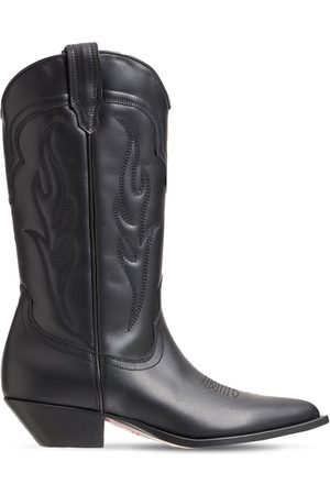 SONORA 35mm Santafe Leather Western Boots