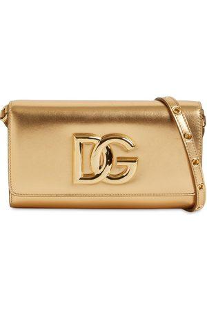 Dolce & Gabbana Sm Dg 3.5 Mordorè Leather Bag