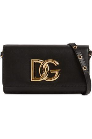 Dolce & Gabbana Small Dg 3.5 Soft Leather Bag