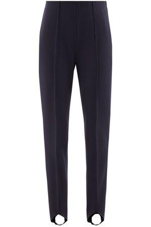 Bogner Elaine Stirrup-cuff Jersey Ski Trousers - Womens - Navy