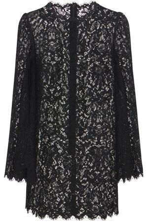 Dolce & Gabbana Women Party Dresses - Lace Mini Dress