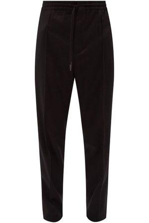 Ermenegildo Zegna Drawstring-waist Wool-blend Track Pants - Mens