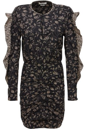 Isabel Marant Women Party Dresses - Lexini Printed Cotton Mini Dress