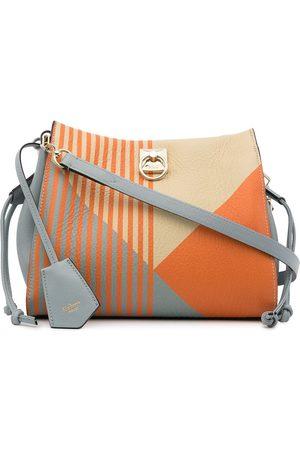 MULBERRY Women Shoulder Bags - Small Iris stripe-print bag