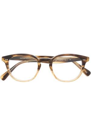 Oliver Peoples Sunglasses - Desmon round-frame glasses - Neutrals
