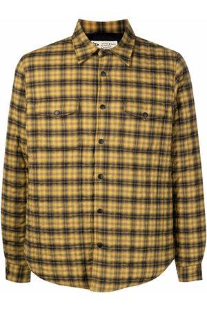 Aspesi Men Shirts - Plaid-check print shirt