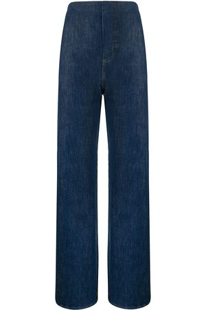 MANNING CARTELL Women High Waisted - Authentic Fades high-waisted wide leg jeans