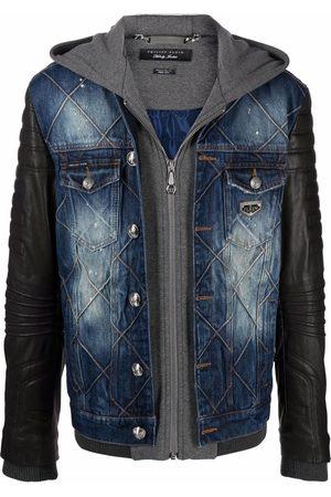 Philipp Plein Quilted denim jacket