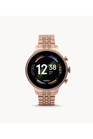 Smartwatches Fossil Women's Gen 6 Smartwatch -Tone Stainless Steel