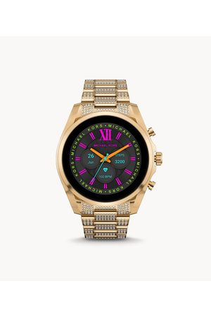 Smartwatches Michael Kors Women's Gen 6 Bradshaw -Tone Stainless Steel Smartwatch