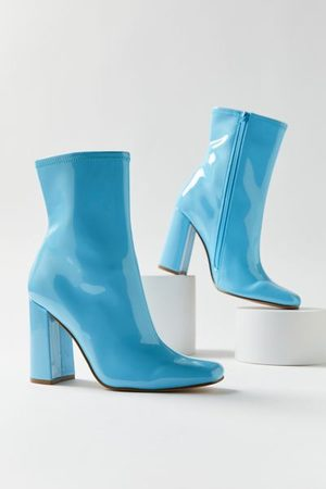 Steve Madden Women Ankle Boots - Lynden Patent Boot