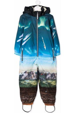 Molo Mountain-print jumpsuit