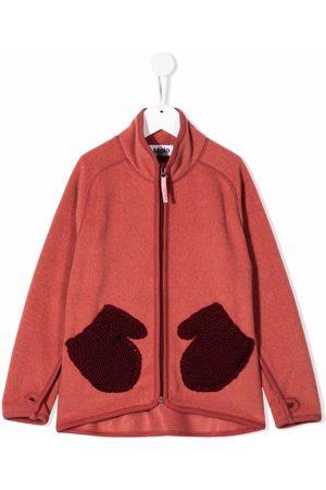 Molo Kids Glove-print jacket