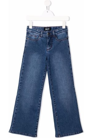 Molo Mid-rise straight-leg jeans