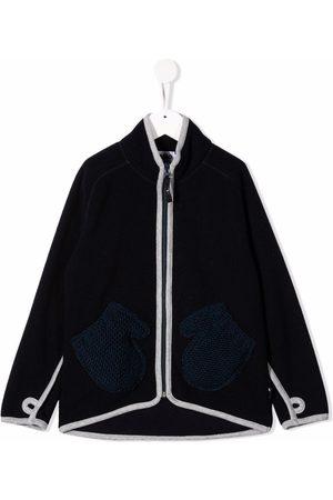 Molo Kids Boys Blazers - Contrasting-trim jacket