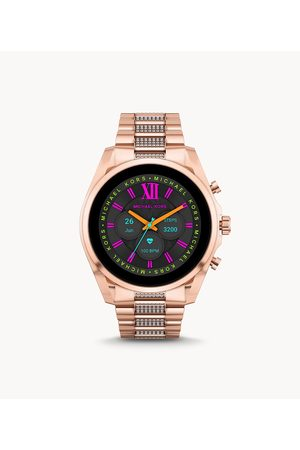 Smartwatches Women Smart Watches - Michael Kors Women's Gen 6 Bradshaw -Tone Stainless Steel Smartwatch