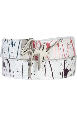 Giuseppe Zanotti Men Belts - Giuseppe paint-splatter belt