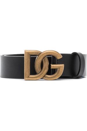 Dolce & Gabbana Men Belts - Crossover DG buckle belt