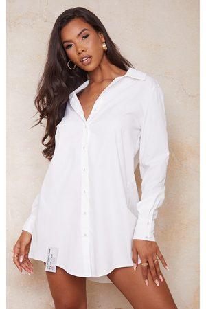 PRETTYLITTLETHING Women Casual Dresses - Hem Detail Shirt Dress