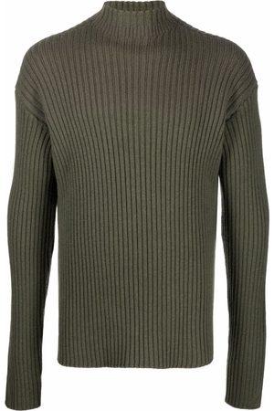 Jil Sander Men Turtlenecks - Roll-neck wool jumper